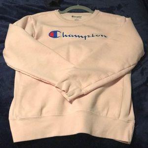 A Champion sweater